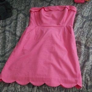Vineyard Vines Preppy Pink Dress size 6